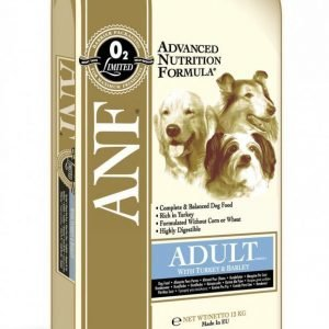 Anf Canine Turkey Meal & Barley 12 Kg