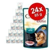 Animonda Carny Exotic -säästöpakkaus 24 x 85 g - 3 eri makua