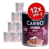 Animonda GranCarno Adult -säästöpakkaus 12 x 800 g - nauta & sydän