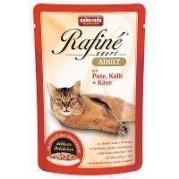 Animonda Rafiné Soupé 24 x 100 g - Kitten: siipikarjacoctail & katkarapu