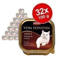 Animonda vom Feinsten Adult -säästöpakkaus 32 x 100 g - siipikarja & vasikka