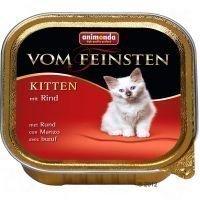 Animonda vom Feinsten Kitten 6 x 100 g - naudanliha