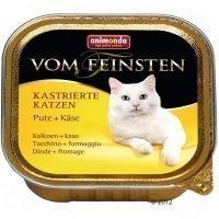 Animonda vom Feinsten for Neutered Cats 6 x 100 g - kalkkuna & juusto