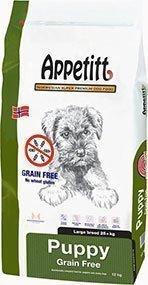 Appetitt Grainfree Puppy Large 12 Kg