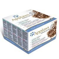 Applaws Adult -purkkilajitelmat 12 x 70 g - Chicken Selection