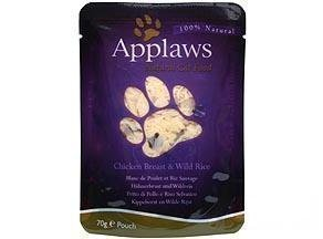 Applaws Cat Chicken & Wild Rice 12x70g