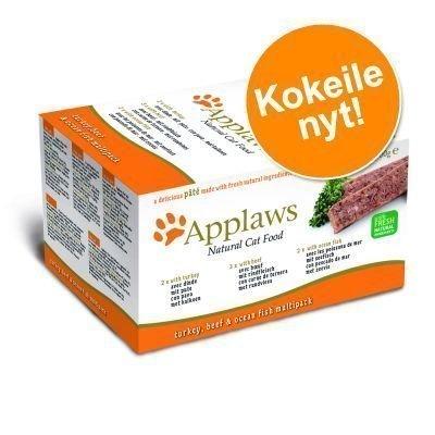 Applaws Cat Paté -lajitelma 7 x 100 g - Green Selection