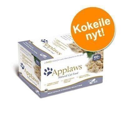Applaws Cat Pot -lajitelma 8 x 60 g - kalalajitelma
