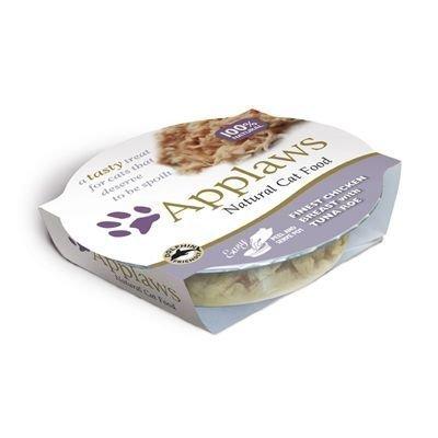 Applaws Cat Pot -märkäruoka 6 x 60 g - kananrinta & riisi