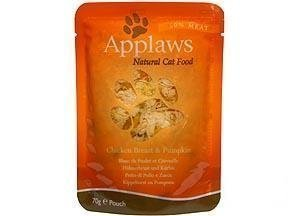 Applaws Cat Pouches Chicken & Pumpkin 12x70g