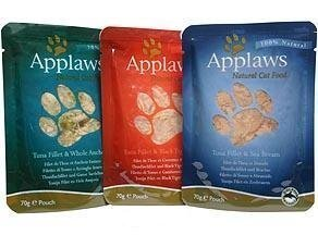 Applaws Cat Pouches Fish Multimix 12x70g