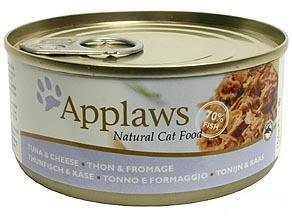 Applaws Cat Tuna And Cheese 24x156g