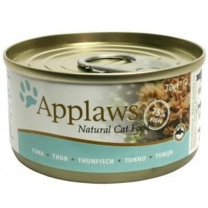 Applaws Cat Wet Tuna Fillet 24x70 Gram