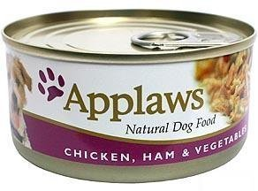 Applaws Dog Wet Chicken & Ham 16x156 Gram