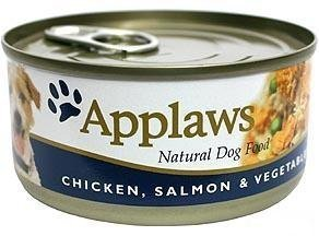 Applaws Dog Wet Chicken & Salmon 12x156 Gram