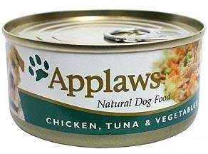 Applaws Dog Wet Chicken & Tuna 16x156 Gram