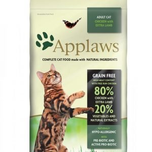 Applaws Katt Adult Chicken & Lamb 2kg