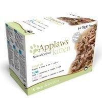 Applaws Kitten -purkkilajitelma 6 x 70 g - lajitelma: sardiini