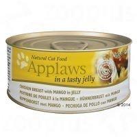 Applaws in Jelly 6 x 70 g - kananrinta & mango