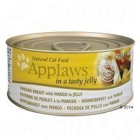 Applaws in Jelly 6 x 70 g - senior: kana