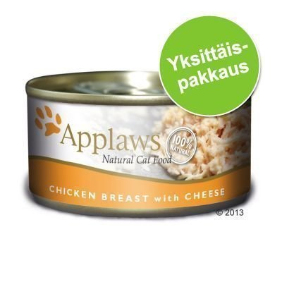 Applaws-kissanruoka 1 x 70 g - tonnikalafile & juusto