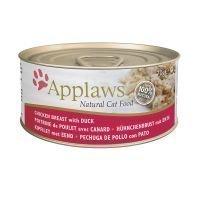 Applaws-kissanruoka 6 x 70 g - kananrinta & kurpitsa