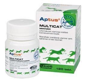 Aptus Multicat Mineraalitabletit 120 Kpl