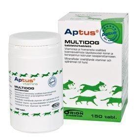 Aptus Multidog Mineraalitabletit 150 Kpl