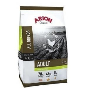 Arion Grain Free Chicken & Potato 12 Kg