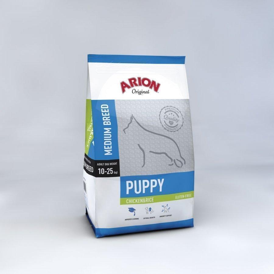 Arion Puppy Medium Chicken & Rice 12 Kg