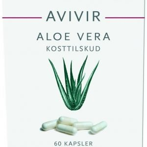 Avivir Aloe Vera Kapseleita 60 Kpl