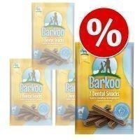 Barkoo Dental Snacks -säästöpakkaus - keskikokoisille koirille (28 kpl)