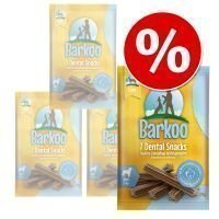 Barkoo Dental Snacks -säästöpakkaus - pienille koirille (28 kpl)
