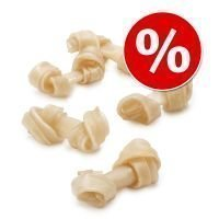 Barkoo-säästöpakkaus: solmitut puruluut - 12 kpl à 250 g / 38 cm