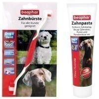 Beaphar Dog-A-Dent -hammashoitosetti - hammasharja ja hammastahna (100 g)