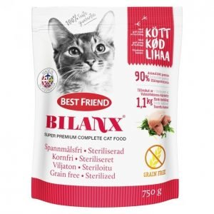 Best Friend Bilanx Kissan Kuivaruoka 750 G Grain Free Sterilized