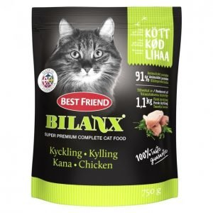 Best Friend Bilanx Kissan Täysravinto 750g Kana