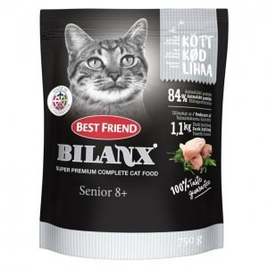 Best Friend Bilanx Kissan Täysravinto Senior 8+ 750g