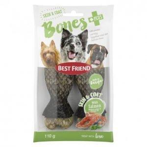 Best Friend Bones Skin&Coat Purupatukka+Lohi 110 G