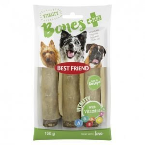 Best Friend Bones Vitality Purupatukka+Vitamiinit 150 G