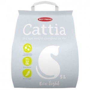 Best Friend Cattia Eco Light Kissanhiekka 5 L