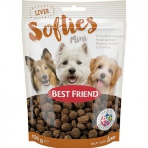 Best Friend Softies 150 G Maksa Miniherkkupalat
