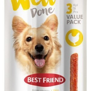 Best Friend Welldone 45 G Pihvitikku 3-Pack