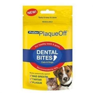 Biodistra Plaqueoff Dental Bites 60 G