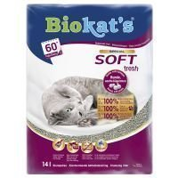 Biokat´s Soft Fresh -kissanhiekka - säästöpakkaus: 2 x 10 l