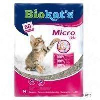 Biokat's Micro Fresh -kissanhiekka - säästöpakkaus: 2 x 14 l