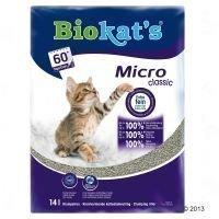 Biokat's Micro -kissanhiekka - 14 l