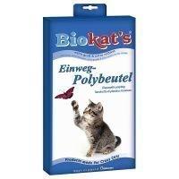 Biokats Polybag -kertakäyttöpussi kissanhiekalle - 12 kpl