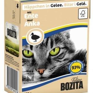Bozita Ankanlihaa Sisältävät Bozita Feline Palat Hyytelössä 16 X 370 G