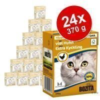 Bozita Chunks -säästöpakkaus 24 x 370 g - in Gravy: kani